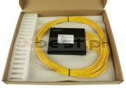 Splitter PLC, SM G657A1 2.0mm, 1x64 (ABS BOX)