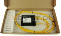 Splitter PLC, SM G657A1 2.0mm, 1x4 (ABS BOX)