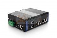 OptecLink SW-7M0204-GE Managed Industrial Switch (4x10/100/1000Base-TX Ports + 2x1000Base-FX SFP Ports)