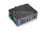 OptecLink SW-7M0204P-GE Managed Industrial PoE Switch (4x10/100/1000Base-TX PoE Ports + 2x1000Base-FX SFP Ports)