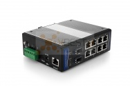 OptecLink SW-7M0208-GE Managed Industrial Switch (8x10/100/1000Base-TX Ports + 2x1000Base-FX SFP Ports)