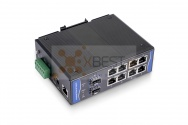 OptecLink SW-7M0208P-GE Managed Industrial PoE Switch (8x10/100/1000Base-TX PoE Ports + 2x1000Base-FX SFP Ports)