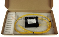 Splitter PLC OPTO, SM 2.0mm, 1x2 (ABS BOX)